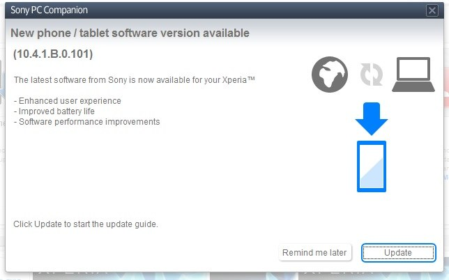 10.4.1.B.0.101 firmware for Xperia Z