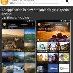 Xperia Album App 5.4.A.0.20 update rolling – Android KitKat Support