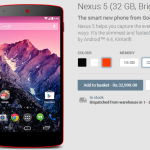 Buy Red Nexus 5 in India at Rs 32999 from Google Play Store Officially