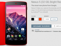 Buy Red Nexus 5 in India at Rs 32999