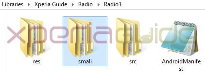 Decompile Xperia Z1 FM Radio apk
