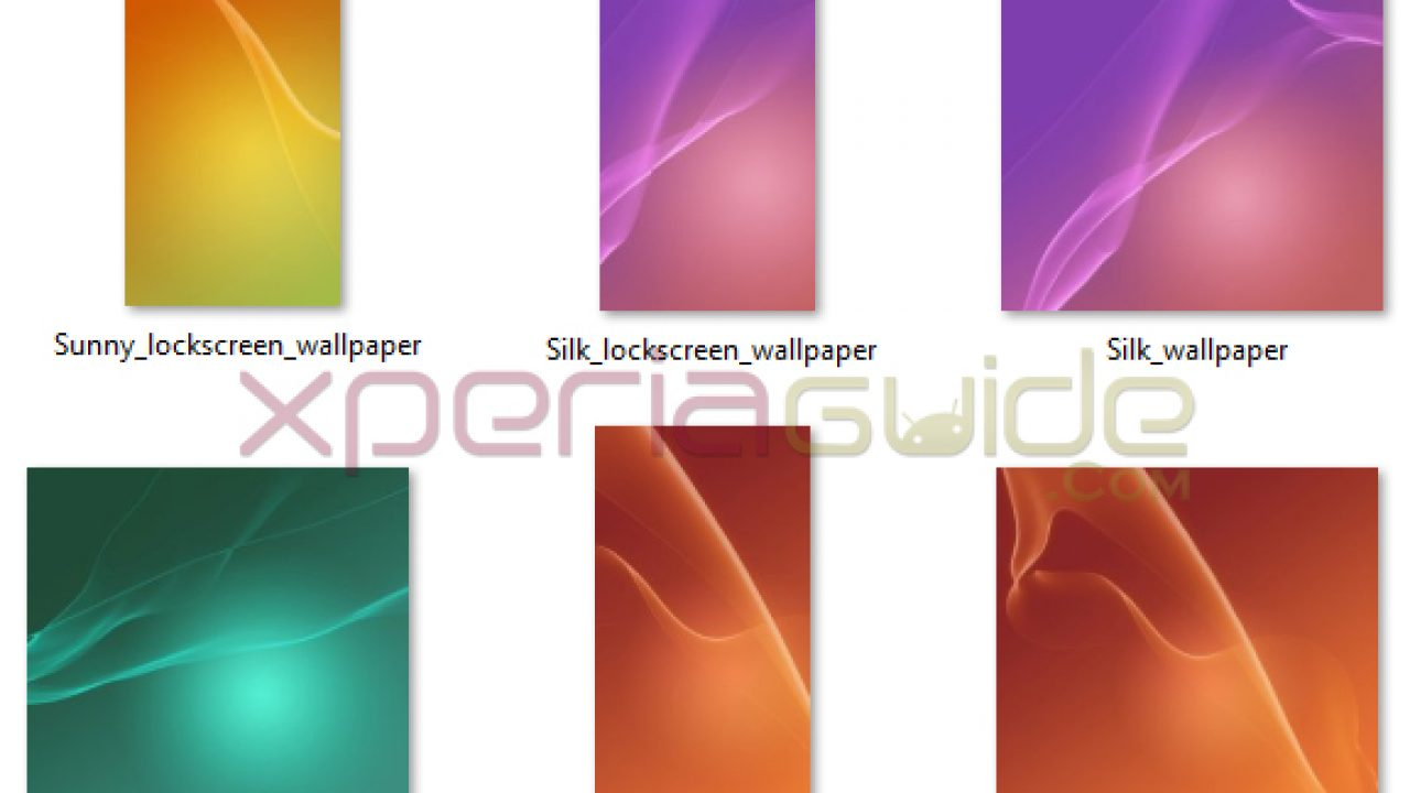 Download Official Xperia Z2 Lockscreen Wallpapers From Kitkat