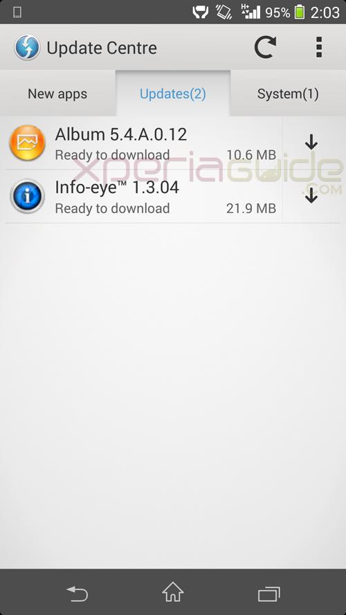 Info Eye version 1.3.04 update