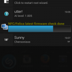 Xperia SP 12.1.A.0.266 firmware Notification Panel