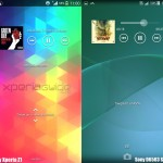 Sony D6503 Sirius KitKat UI Walkman Lock Screen Screenshot Leaked