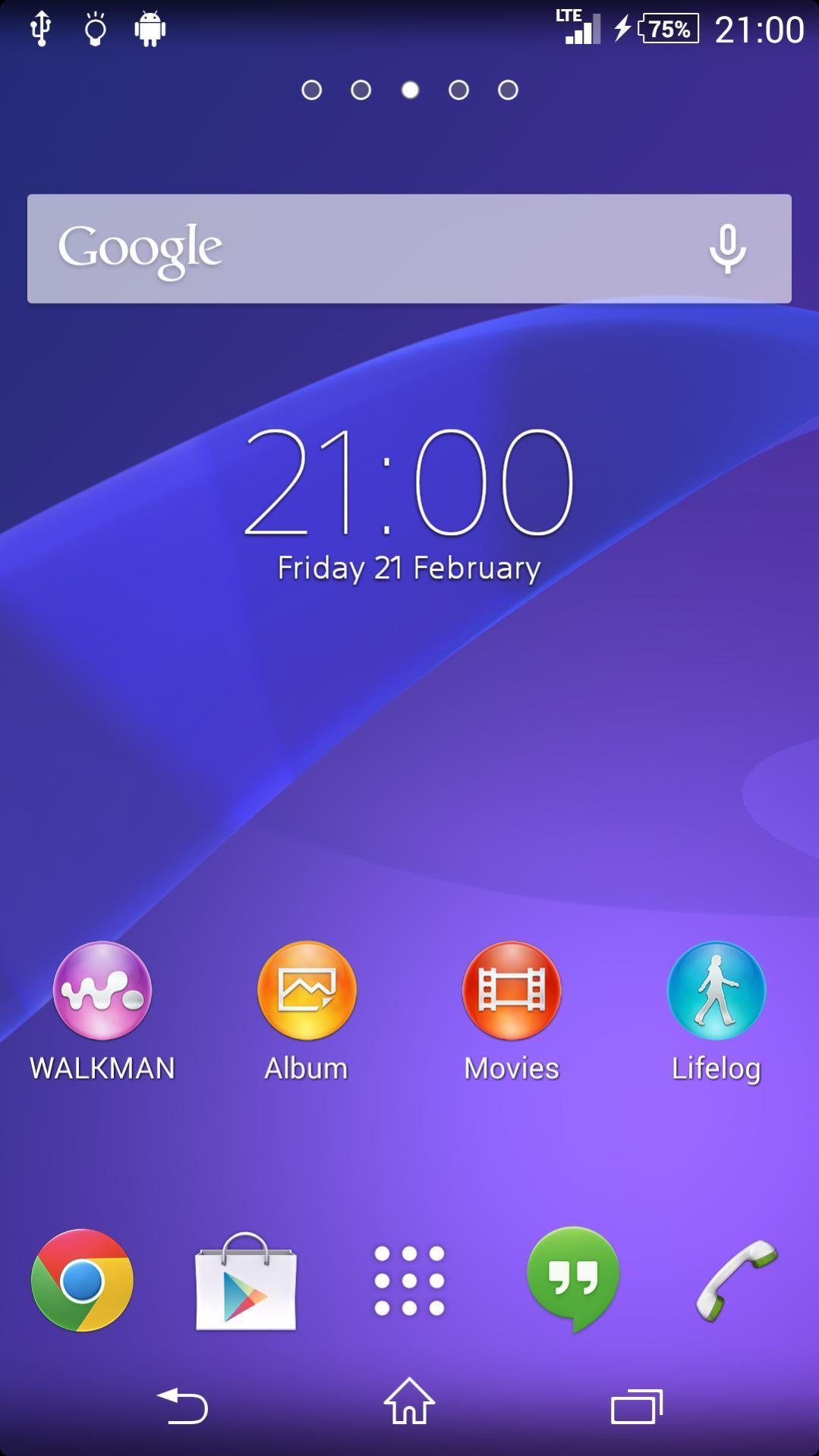 Permalink to Sony Xperia Z2 Compact Docomo Promo