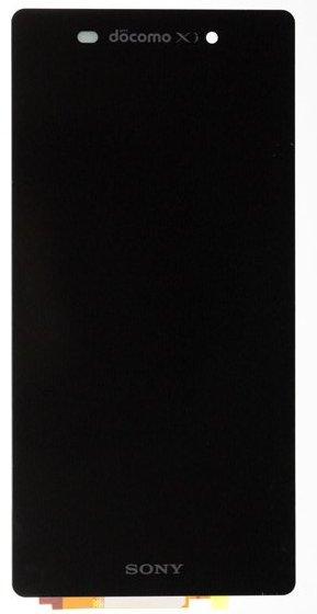 Sony D6503 Sirius front panel