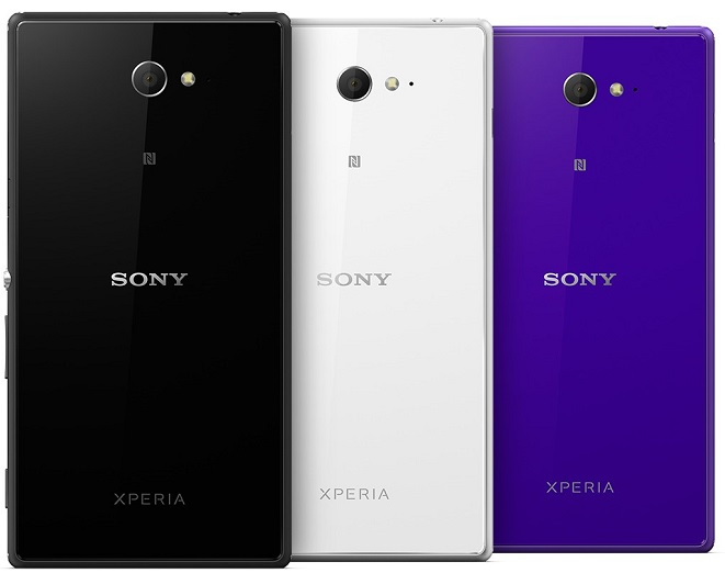 Xperia M2 All 3 colors