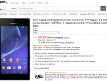 Xperia M2 Price in germany