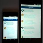 Xperia Z1 Compact vs Xperia Z Ultra Size and Screen Display Comparison Pics
