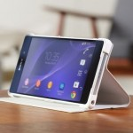 Xperia Z2 Style Cover Stand SCR10 Announced in Black and White