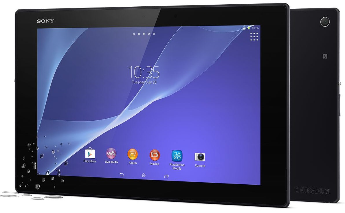 Xperia Z2 Tablet with S801 SoC