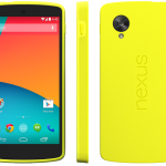 Buy Official Nexus 5 Bumper Case in Red, Black, Yellow, Grey color