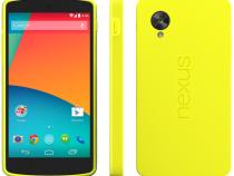 Yellow Nexus 5 Bumper Case