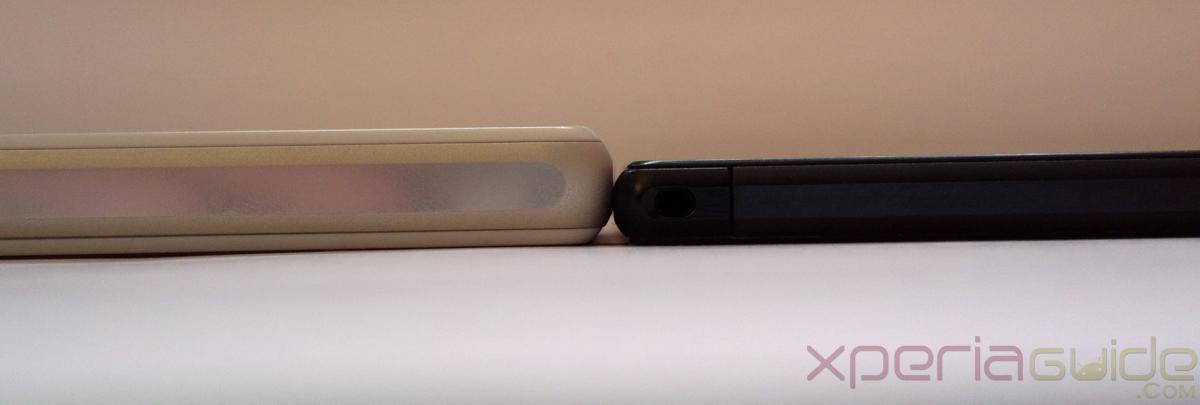 Z Ultra vs Z1 Compact size
