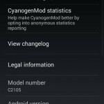 Xperia L unofficial CyanogenMod 11 Android 4.4.2 KitKat ROM available