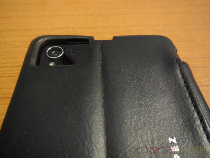 Xperia Z1 Leather case