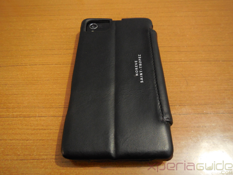 Noreve Xperia Z1 case Leather