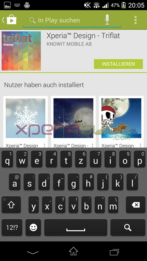 Xperia T Keyboard 9.2.A.0.295 firmware