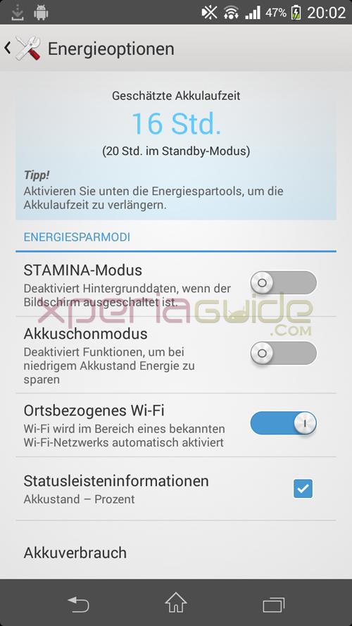 Xperia T Stamina Mode 9.2.A.0.295 firmware
