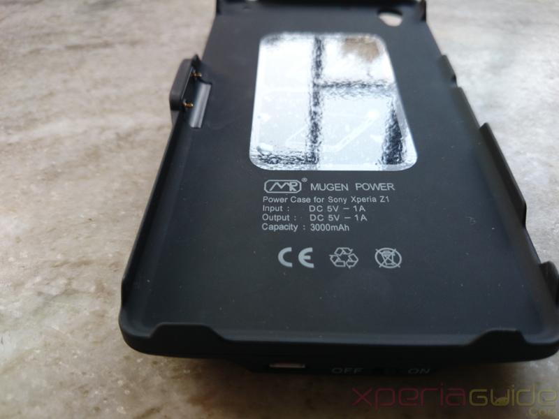 Xperia Z1 Battery Case