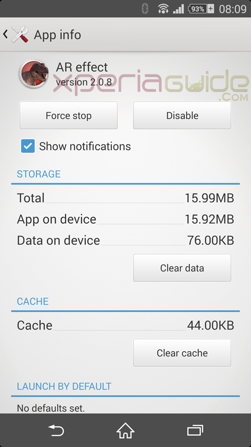AR Effect 2.0.8 app version