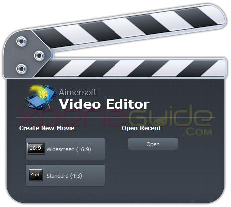 Aimersoft Video Editor Windows PC
