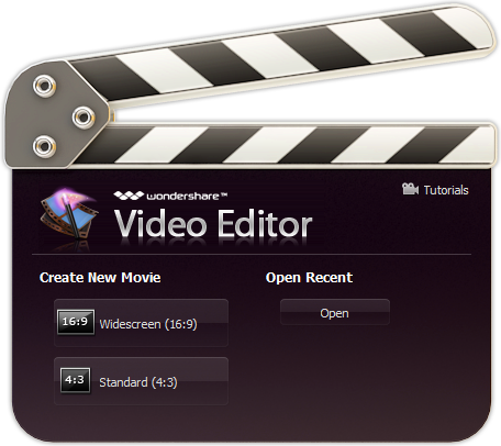 Wondershare Video Editor for Windows PC
