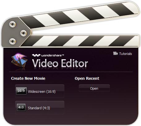 Wondershare Video Editor for Windows PC
