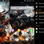 Install Xperia Darksiders custom theme on Android 4.3 devices