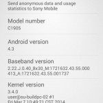 Xperia M 15.4.A.0.23 firmware Android 4.3 update rolling