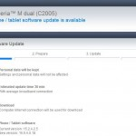 Xperia M Dual 15.5.A.0.18 firmware Android 4.3 update rolling