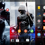 Install Xperia Robocop custom theme on Android 4.3 devices