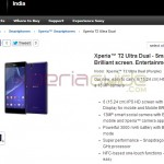 Xperia T2 Ultra Dual officially launched in India at price Rs. 25990