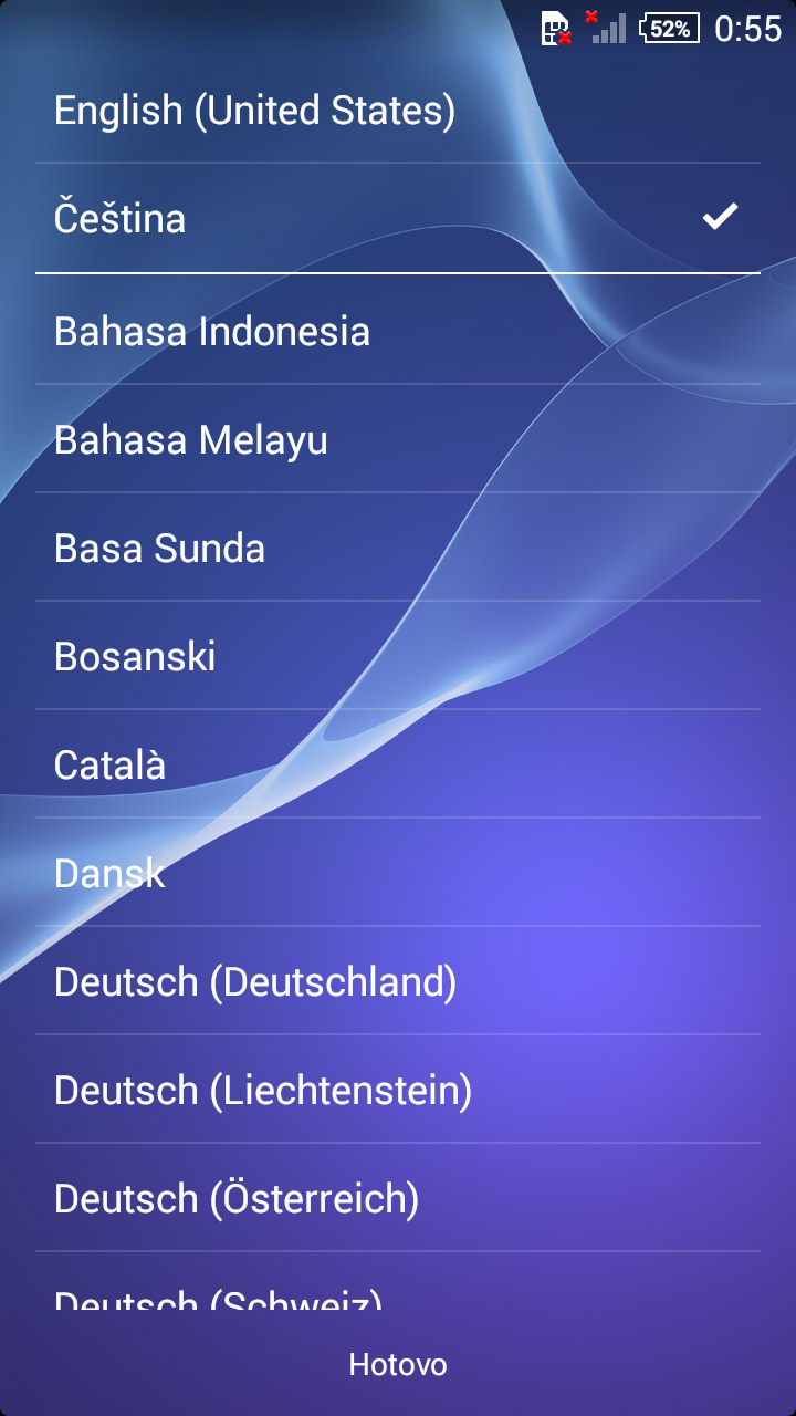 Xperia Z1 Compact 14.3.A.0.681 Start Up screen