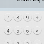 Install Xperia Z2 Calculator 4.4.2-2 version from KitKat