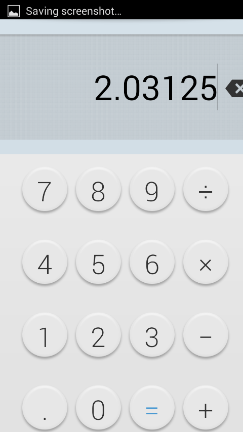 Xperia Z2 Calculator 4.4.2-2 app