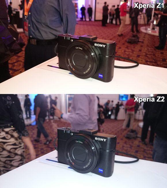 Z1 vs Z2 Camera