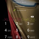 Install Xperia Iron Man Custom theme on Xperia smartphone