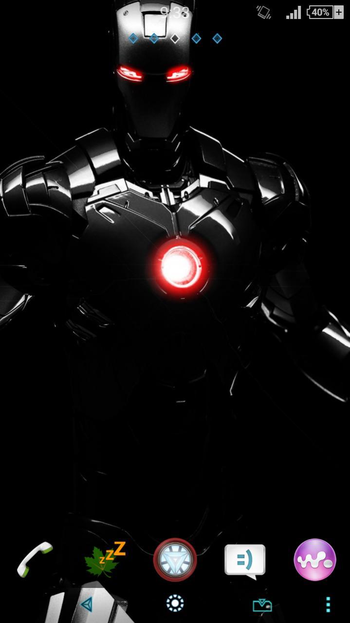 Xperia Iron Man theme