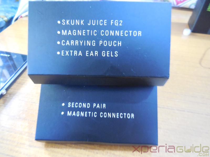 Skunk Juice FG-2 Earbuds Details