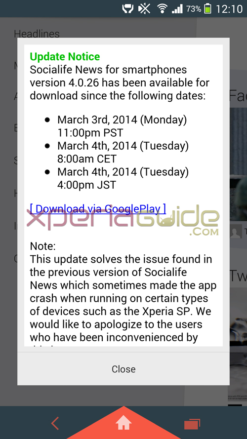 Socialife News app 4.0.26 version