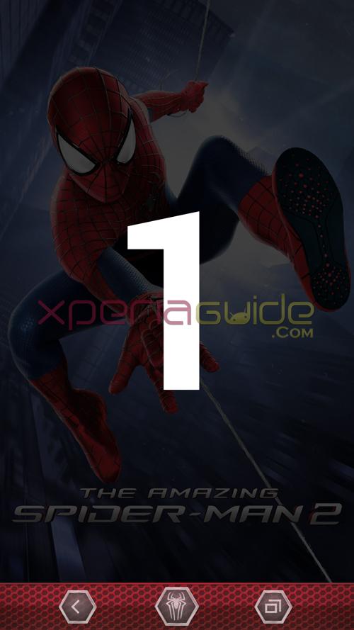 Xperia Spider-Man 2 Theme