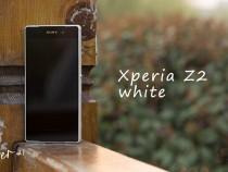White Xperia Z2