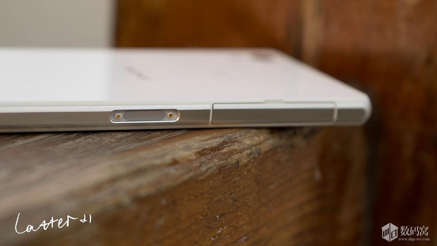 White Xperia Z2 Magnetic Charging Dock Pins