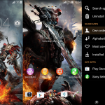 Install Xperia Darksiders Version 2 custom theme on Android 4.3 devices