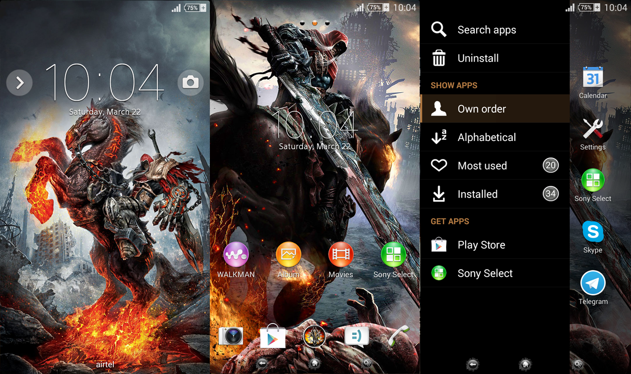 Xperia Darksiders Version 2