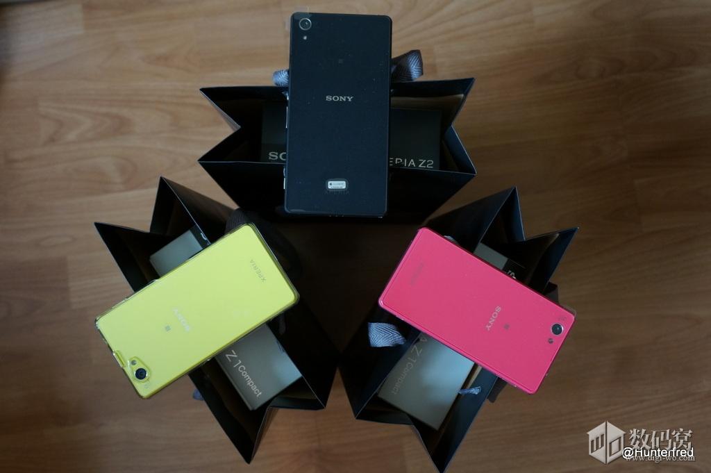 Xperia Z1 Colorful Edition vs Xperia Z2