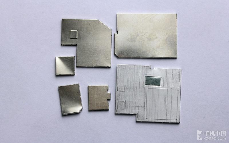 Xperia Z2 internal metal coverings