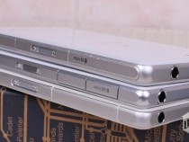 White Xperia Z2 Vs Xperia Z1 Vs Xperia Z1 Compact color contrast comparison - Difference in white color easily spotted.